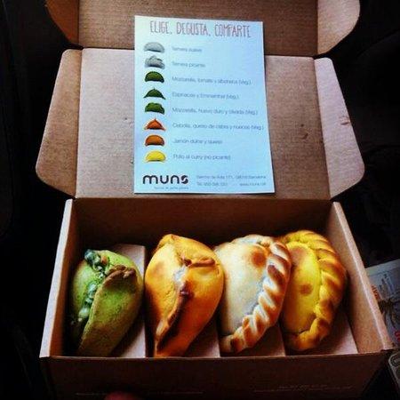 Muns: Color y sabor unidos en empanadas