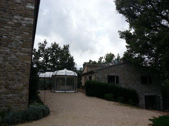 Residenza d'Epoca San Girolamo : sala colazione e ristorante