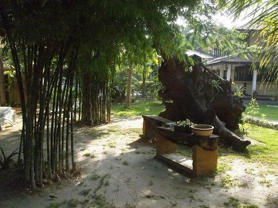 Pangkor Sandy Beach Resort : View from chalet