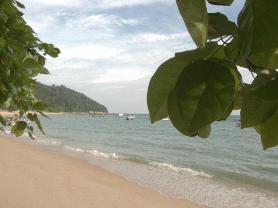 Pangkor Sandy Beach Resort : Another view of Pantai Bogak