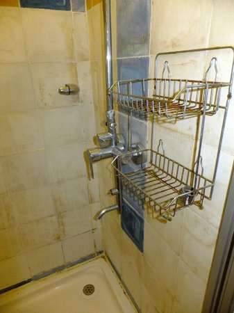 The Harbor Lights Palace: The Harbour Lights - shower rack, home to one of the broken controls