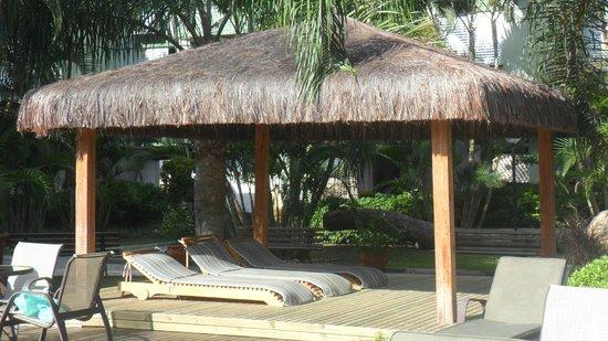 Belluno Apart Hotel: Area de descanso