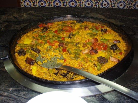 Hotel Brasil: The best paella in spain