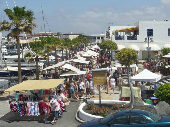 Playa Blanca, Meksiko: the street market