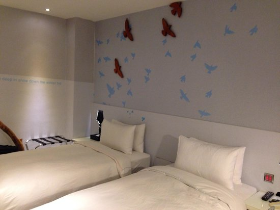 CityInn Hotel Plus - Ximending Branch: Twin bedroom. Room 208
