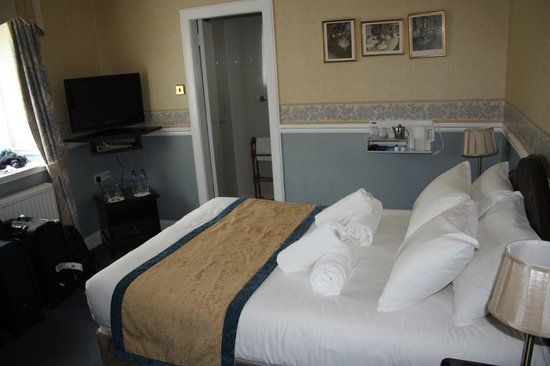 Edinburgh Lodge Hotel: Room number 10