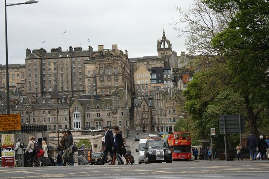 Edinburgh Lodge Hotel: Old town Edinburgh