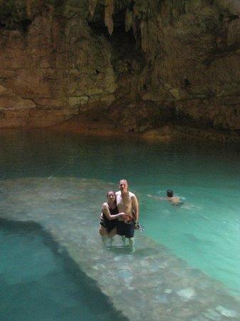 Suytun Cenote: nous !