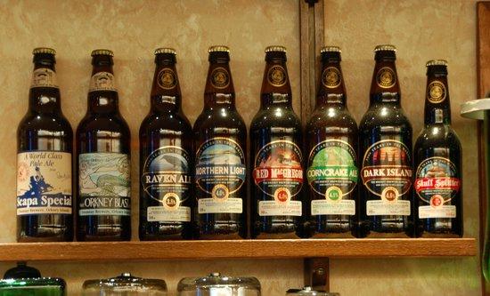 Kirkwall Hotel: Local brews