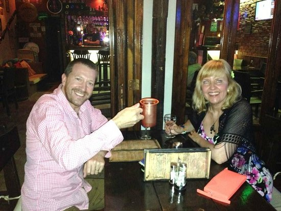 Smugglers' Inn : Enjoying our meal