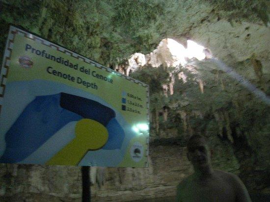 Suytun Cenote: le plan