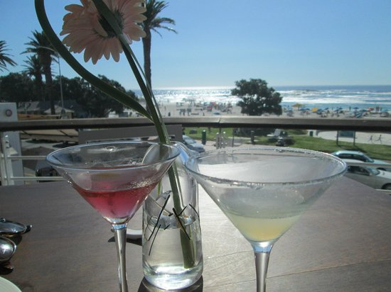 Cocktails at Umi - it doesn't get much better