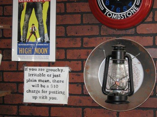 O.K. Cafe : Warning!