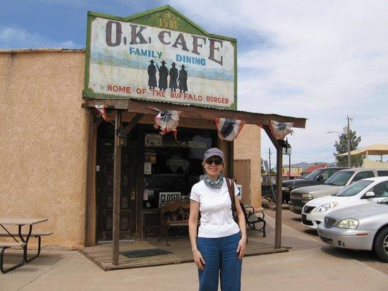O.K. Cafe : Outside cafe