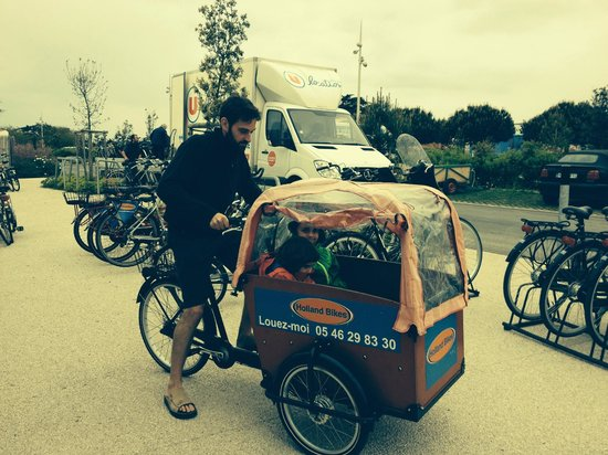 Holland Bikes : Un Cargobike sur le départ..