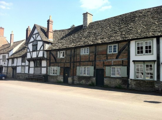 Lacock Abbey: High Street Laycock Village