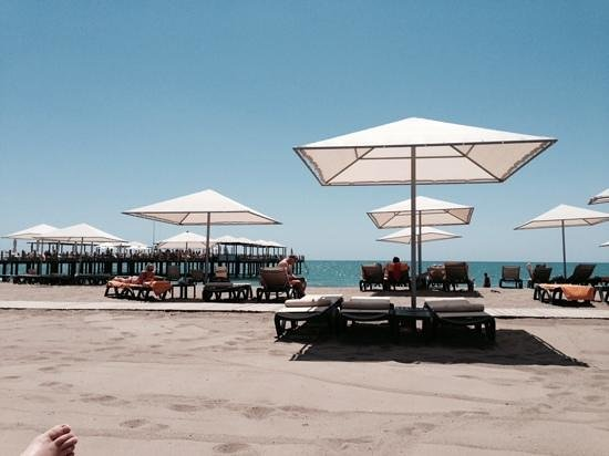 Kaya Palazzo Golf Resort: beach
