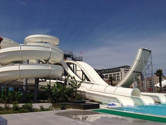 Kaya Palazzo Golf Resort: slides