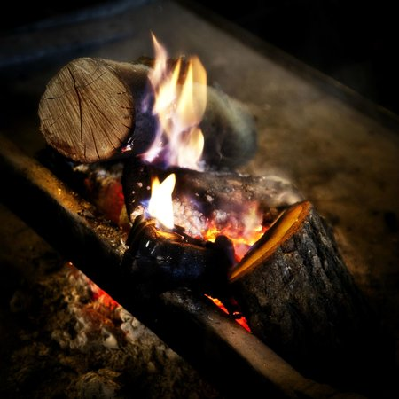 Hotel La Moncloa: Fuego de la Lareira