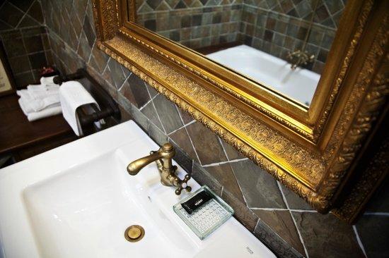 Hotel La Moncloa: Detalle cuarto de baño