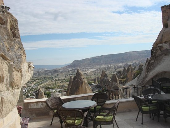 Arif Cave Hotel : Wonderful view