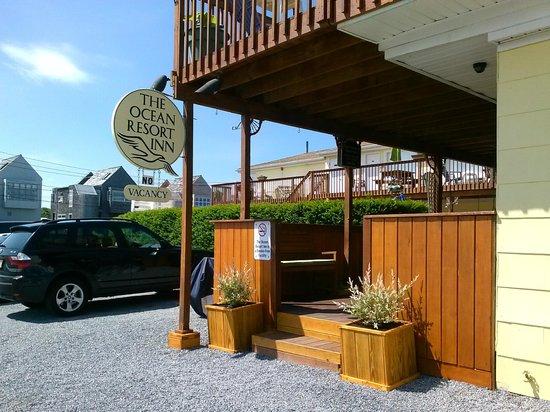 The Ocean Resort Inn: Entrance