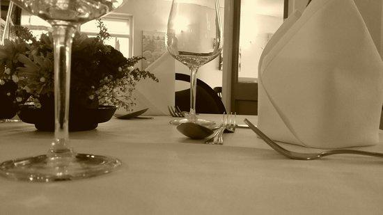 Moorings Cafe Bar: Dining room