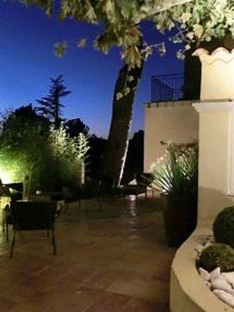 La Bastide de Cabries : Terrasse