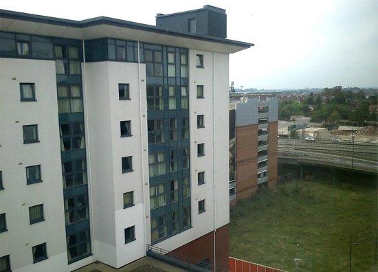 Premier Inn Coventry City Centre (Belgrade Plaza) Hotel: View