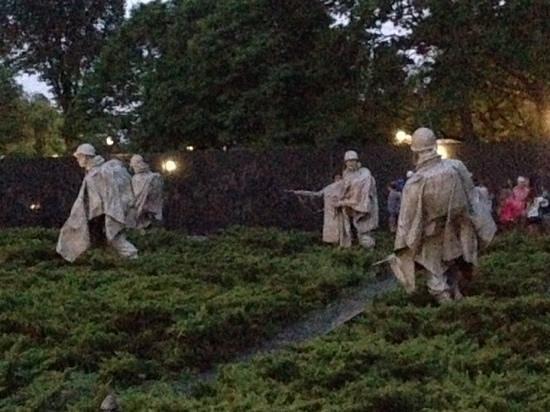 Korean War Veterans Memorial : korean War Memorial