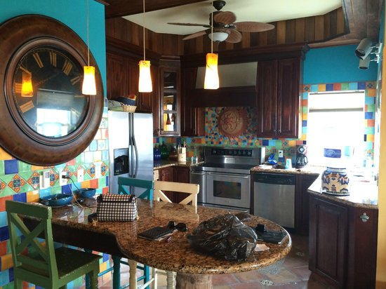 The Landings at Tres Cocos: Kitchen area of A3