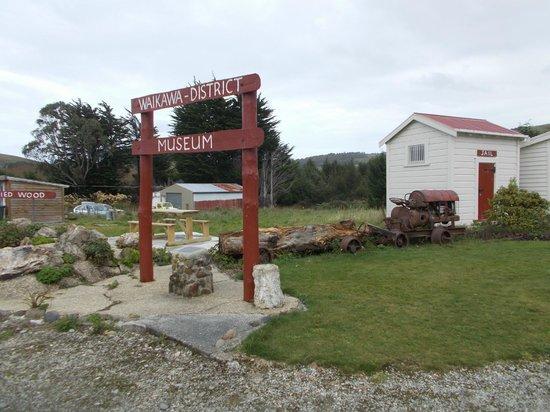 Waikawa, Neuseeland: the museum