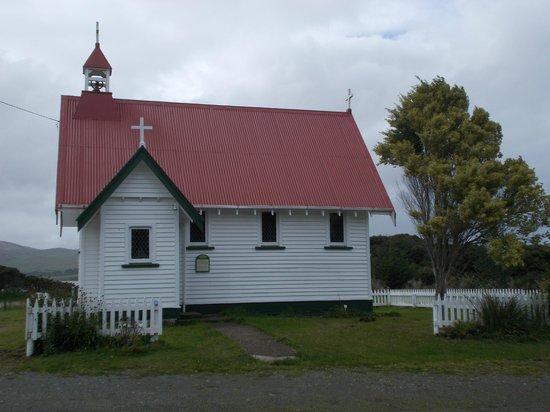 Waikawa, Neuseeland: the church