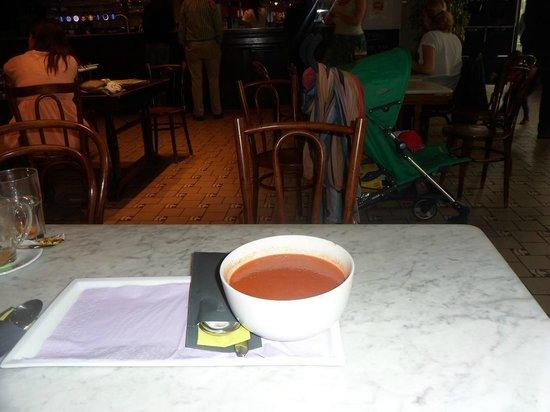 Vooruit Arts Centre: Delicious soup