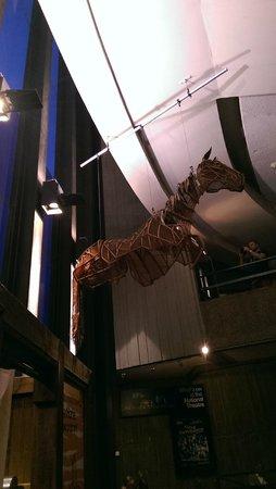 War Horse: В холле театра