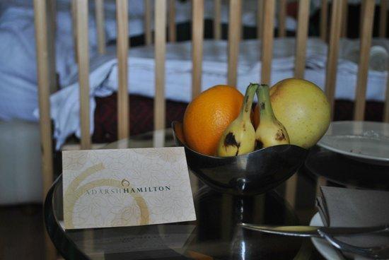 Adarsh Hamilton: Fruits