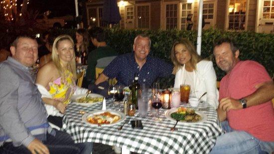 Sabatino's : Great 40th birthday night
