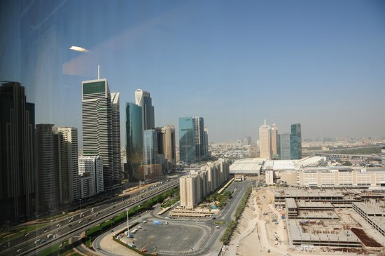 Jumeirah Emirates Towers: other view of my room