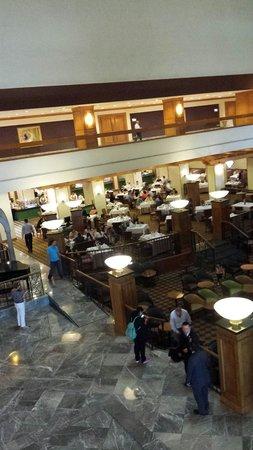 Crowne Plaza Monterrey: Zona de restaurantes