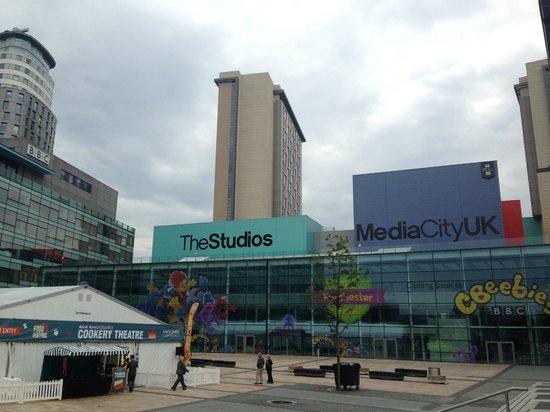 Bbc Studio Tour Manchester