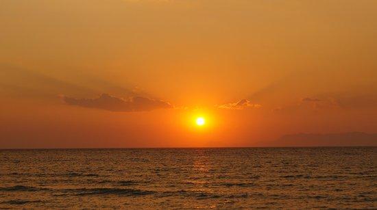 Electra Palace Rhodes: Flott solnedgang