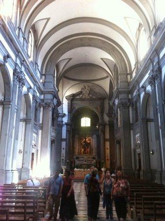 Iglesia de Santa Felicita: Chiesa di Santa Felicita, veduta interna
