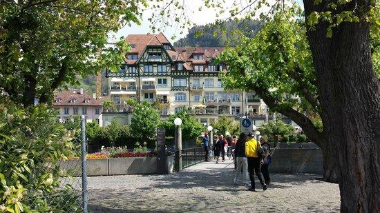 Thunersee : Thun  na  Suíça