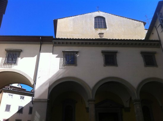 Church of Santa Felicita: Chiesa di Santa Felicita, facciata