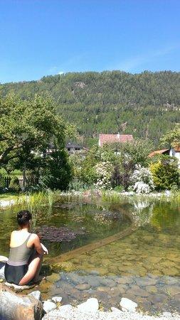 Gartenhotel Linde: The swimming pond