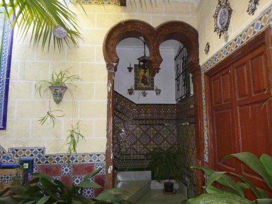Hotel San Andres II: l'autre patio de l'entrée