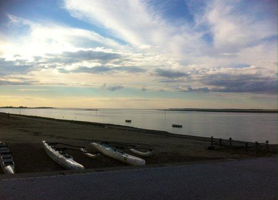 Baie de Somme (Somme Bay) : Saint Valéry en fin de journée