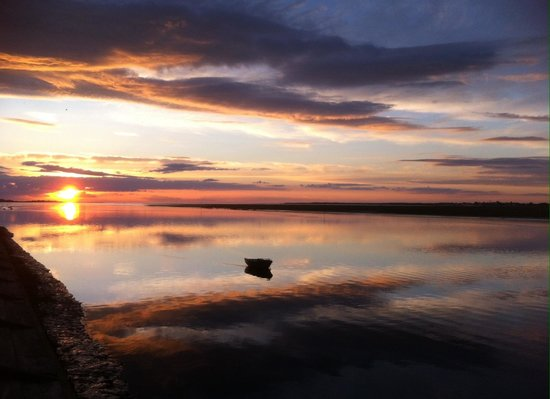 Baie de Somme (Somme Bay) : Saint Valéry en fin de journée !