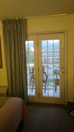 Comfort Inn & Suites at Dollywood Lane: Balcony