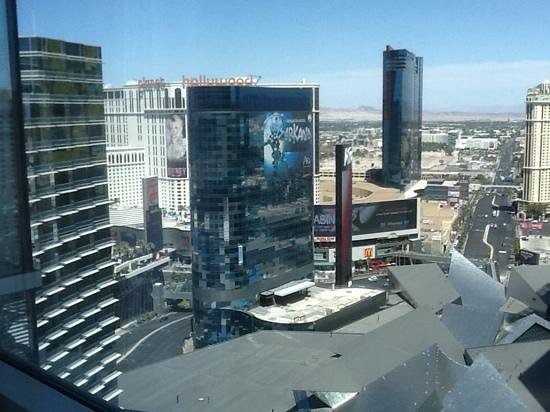 ARIA Sky Suites: View from our room